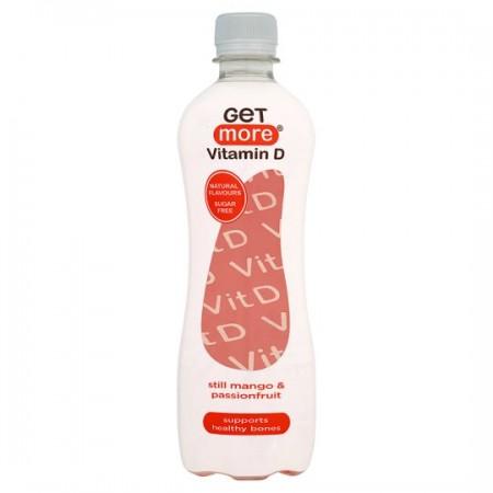 Get More Vitamin D Still Mango & Passionfruit- 12 x 500ml