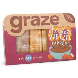 Graze Chocolate Pretzel Dippers x 9