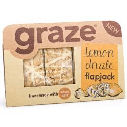 Graze Lemon Drizzle Flapjack x 9