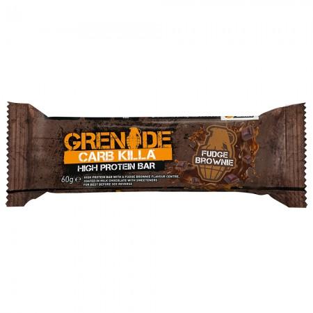Grenade Protein Bar | Fudge Brownie - 12 x 60g