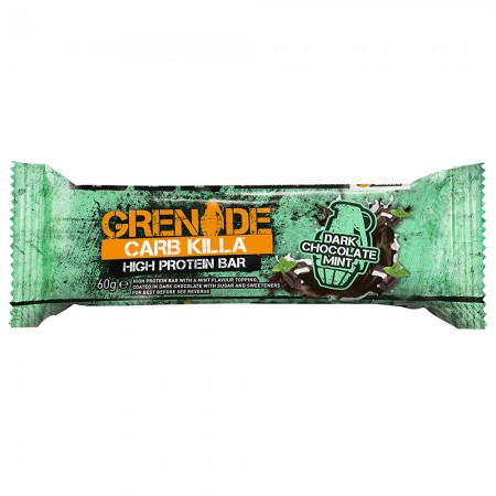 Grenade Protein Bar | Dark Chocolate Mint 12 x 60g