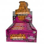 Grenade Carb Killa Protein Bars - Dark Chocolate Raspberry   12 x 70g