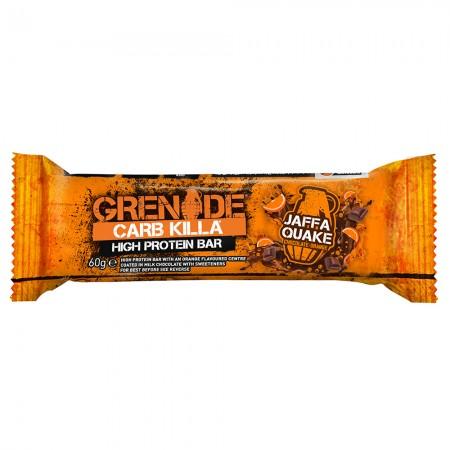 Grenade Protein Bar | Jaffa Quake - 12 x 60g