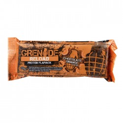 Grenade Reload Protein Flapjack - Chocolate Orange | 12 x 70g