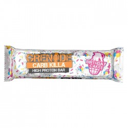 Grenade Carb Killa Protein Bars - Birthday Cake | 12 x 70g