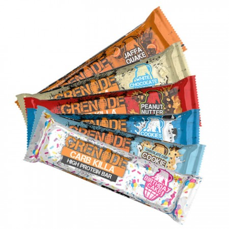 Grenade Protein Bars Deal | Any 5 For £70