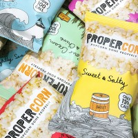 Propercorn Popcorn Supplied By Simply Heavenly Food