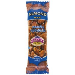Jannis - Almond Bar - 20 x 40g