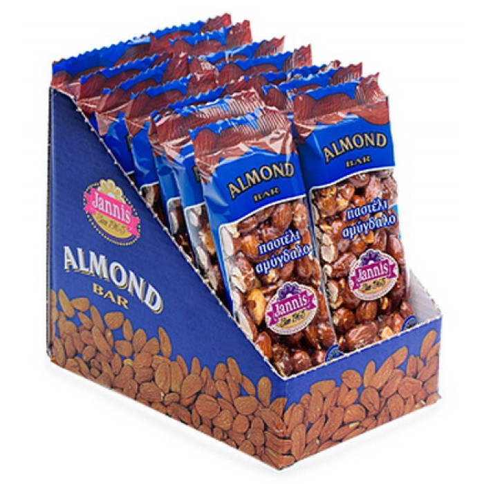 Jannis almond bar 20 x 40g for Food bar manufacturers uk