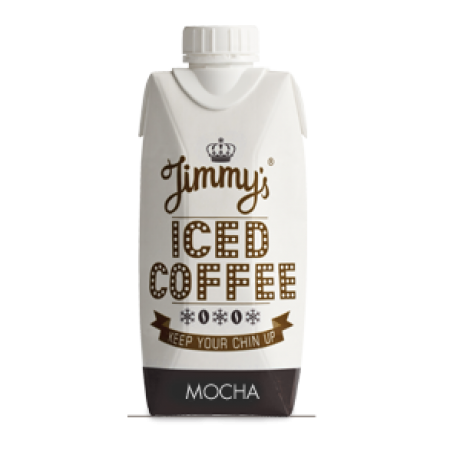 Jimmy's Mocha Iced Coffee 12 x 330ml