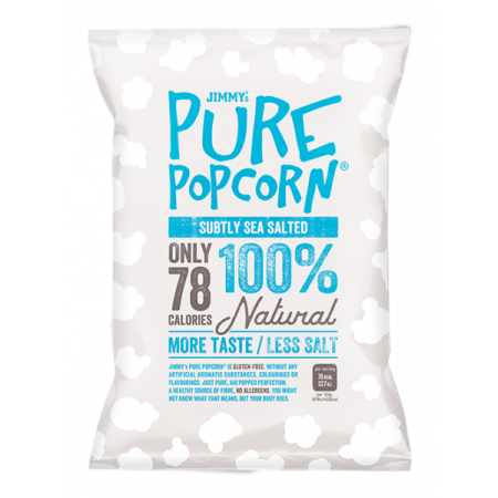 Jimmy's Pure Popcorn - Sea Salted 20 x 18g