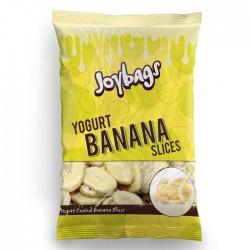 Joybags Yogurt Banana Slices Bag | 12 x 150g