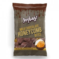 Joybags Milk Chocolate Honeycomb Bites Bag | 12 x 150g