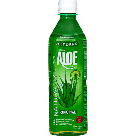 Just Drink Premium Natural Aloe Drink 12 x 500ml