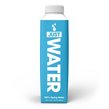Just Water 100% Natural Spring Water - 12 x 500ml