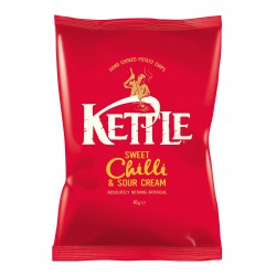 Kettle Chips | Sweet Chilly & Sour Cream 18 x 40g