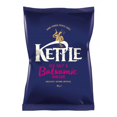 Kettle Chips   Sea Salt & Balsamic Vinegar 12 x 150g