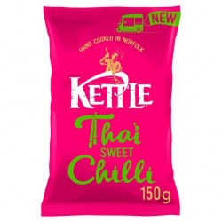 Kettle Chips - Thai Sweet Chilli - 12 x 150g