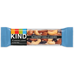 Kind Bars - Blueberry Vanilla & Cashew - 12 x 40g