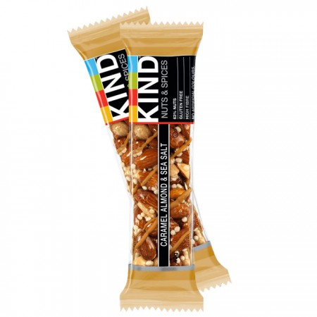 Kind Bars - Caramel Almond & Sea Salt 12 x 40g