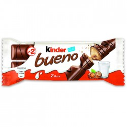 Kinder Bueno Chocolate Bars - 30 x 44g