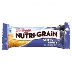 Kellogg's Nutri-grain Blueberry Cereal Bar 28 x 37g