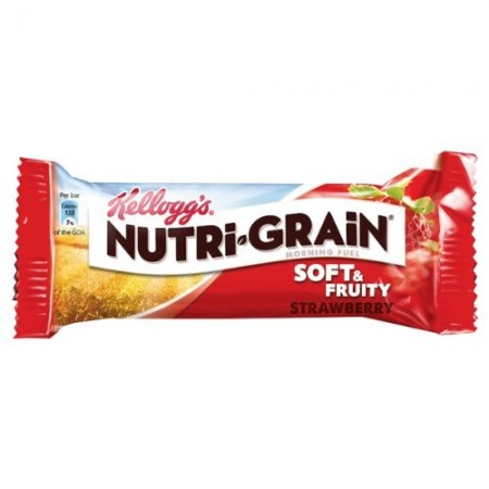 Kellogg's Nutri-grain Strawberry Cereal Bar 28 x 37g