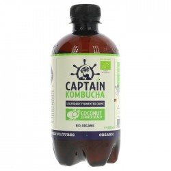 Captain Kombucha Coconut Summer Beach - 12 x 400ml