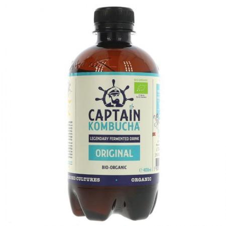 Captain Kombucha Original - 12 x 400ml