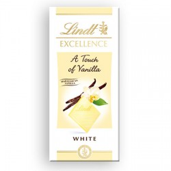 Lindt Excellence White With a Touch of Vanilla - 20 x 100g