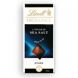 Lindt Excellence Dark Sea Salt - 20 x 100g