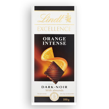 Lindt Excellence Orange Intense 20 x 100g