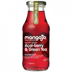 Mangajo Acai-Berry & Green Tea 12 x 250ml