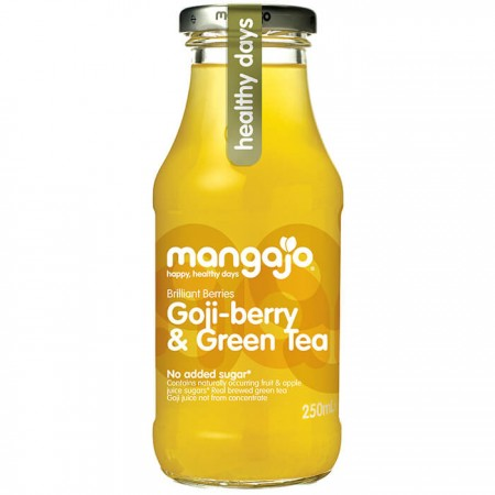 Mangajo Goji-berry & Green Tea 12 x 250ml