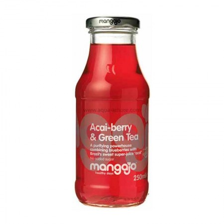 Mangajo Acai-Berry & Green Tea 12 x 250ml