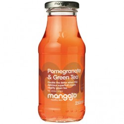 Mangajo - Pomegranate & Green Tea - 12 x 250ml