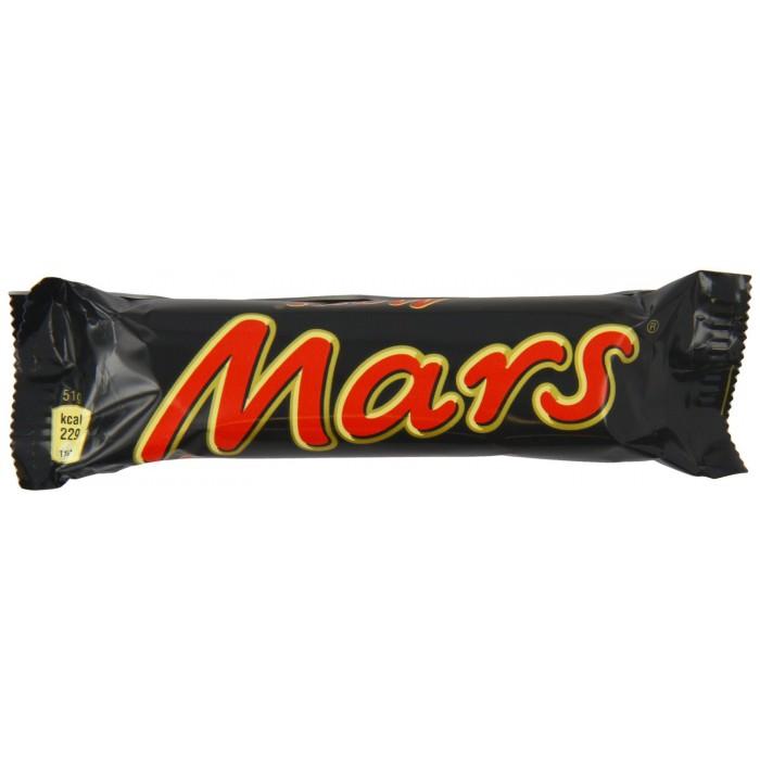Mars bar 48 x 58g for Food bar manufacturers uk