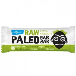 MaxSport Cocoa & Hazelnuts Raw Paleo Bar 20 x 50g