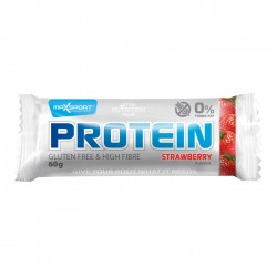 MaxSport Strawberry Flavour Protein Bar 24 x 60g