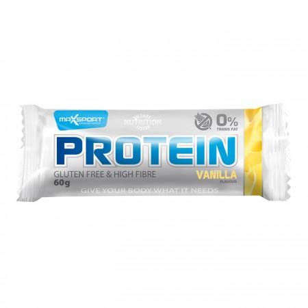 MaxSport Vanilla Flavour Protein Bar 24 x 60g