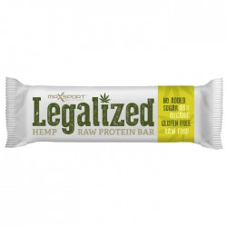 Maxsport Legalized Hemp Raw Protein Bar 24 x 42g