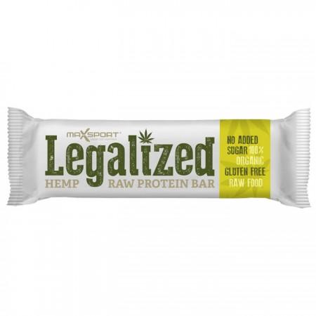 Maxsport Legalized Hemp Raw Protein Bar 24 x 42g