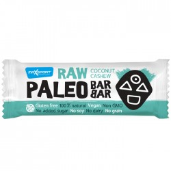 MaxSport Coconut & Cashew Raw Paleo Bar 20 x 50g