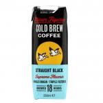 Minor Figures Cold Brew Coffee Straight Black - 10 x 250ml