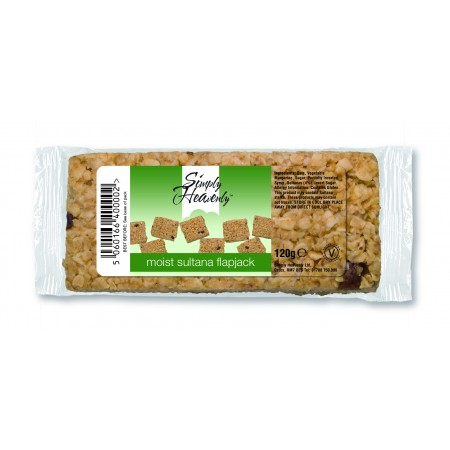 Simply Heavenly Flapjack Sultana 15 x 120g