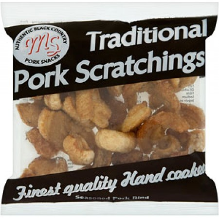 MS Traditional Pork Scratching 12 x 45