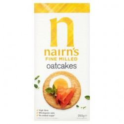 Nairns Fine Milled Oatcakes (12 x 218g)
