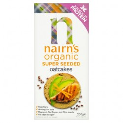 Nairns Super Seeded Oatcakes (8 x 200g)