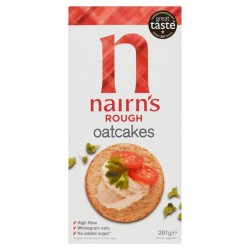 Nairns Rough Milled Oatcakes (12 x 218g)