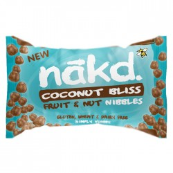 Nakd Nibbles - Coconut Bliss Nibbles 18 x 40g